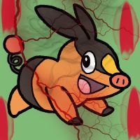 Tepig's Flames of Fire by kwendt43