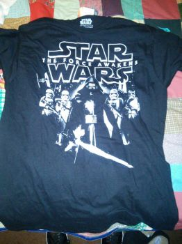Star Wars t-shirt by Don-Shazz