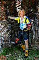 Tidus Cosplay, Besaid and Blitz Ball by Alexcloudsquall