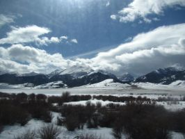 Snowy Mountains 5 by Zepher-Stock