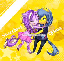 + = StarDust and Gama = + by DigiKat04