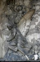 stock: angel sculpture 3 by elisafox-stock
