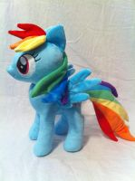 Rainbow Dash 2 by PlanetPlush