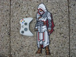 Assassin's Creed Brotherhood Ezio Perler Bead by BigBossFF