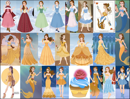 Belle Collage by M-Mannering