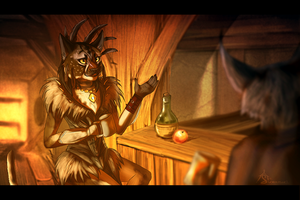 tavern. by Suzamuri