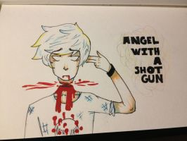 Angel With A Shotgun by Xeyonic