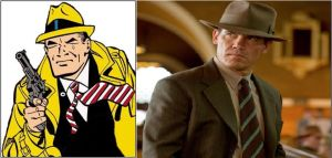 Dick Tracy casting by IronCobraAM
