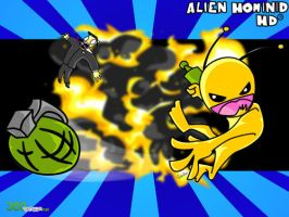 Alien Hominid Wallpaper by SEspider