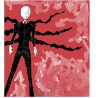 Slender man. My first pic. by Grossing