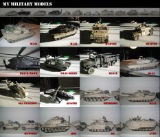 My military models by randychen