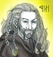 Fili the Dwarf by red-eye-girl