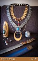 Sinbad - Magi -  Household vessels and props by Elffi