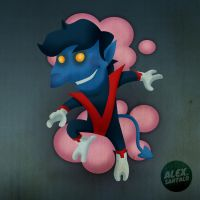 Nightcrawler vectorized by alexsantalo