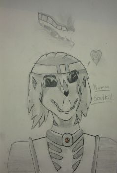 Human Soulkill My Look Like by pd123sonic