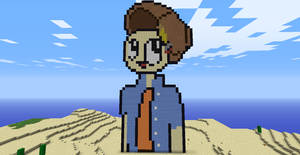Trace pixel art by Pickleplayer