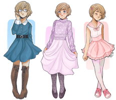 Fashionable Armin by shiganshina-trio