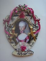 Marie Antoinette Urn ATC by ArtfullyMusing