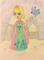 Elsa (let it go) by TheNeonUmbreon