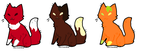 CHEAP Food-Themed Cat Adopts CLOSED by Derpyiscannon