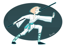 fighting Pearl by Kikirrikitiki