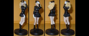 Lady Blackhawk custom figurine by Ciro1984