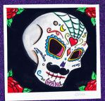 Hombre Sugar Skull by ChibiCelina