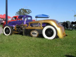 Low Custom Austin Taxi Cab by Jetster1