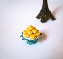 Yellow Macaroons by vesssper