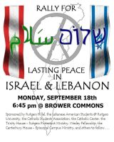 Peace in Israel and Lebanon by HeBReWReVoLuTioN