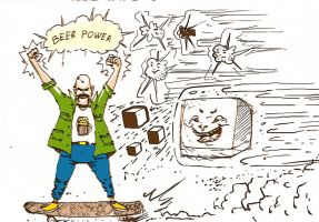 beer power by RusRed
