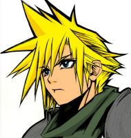 A re-color of cloud by Gios
