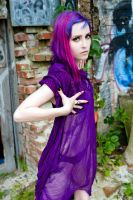 Sheer Purple by Tristin-Vitriol