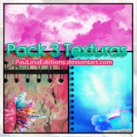 Pack 3 texturas by PauLinaEdiitions