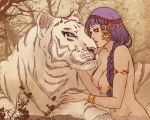 Tiger kiss by Kimir-Ra