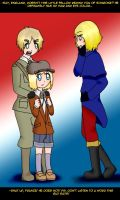 SP+APH: Resemblance by EranthyaeNoire