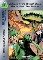 Green Arrow Special - Boxing Glove Arrow by overpower-3rd