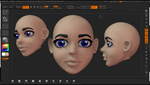 Anime Face base WIP by grico316