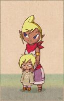 Tetra and Finn again by BeagleTsuin