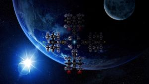 Space Station 2045 by drumheaddad