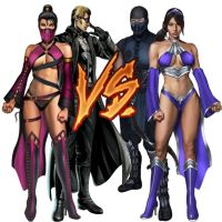 Alt. Team battle of lovers by IamJohnnyCage