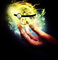 The Poke Ball of Pikachu by solazora