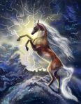 The heavenly horse by Leysi