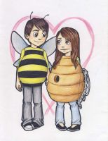 The Honey and the Bee by miriamartist