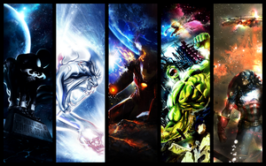 Marvel Wallpaper by KingPyroe