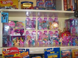 My My Little Pony Collection (i dont remember #) by RamenWolf1485