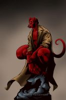 Hellboy by VinRoc