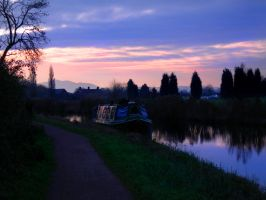 Canal Boat by smokerette