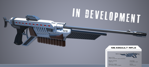 N16 Assault rifle, specs by Nothingman74