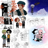 Op Some doodles and stuff by Nire-chan